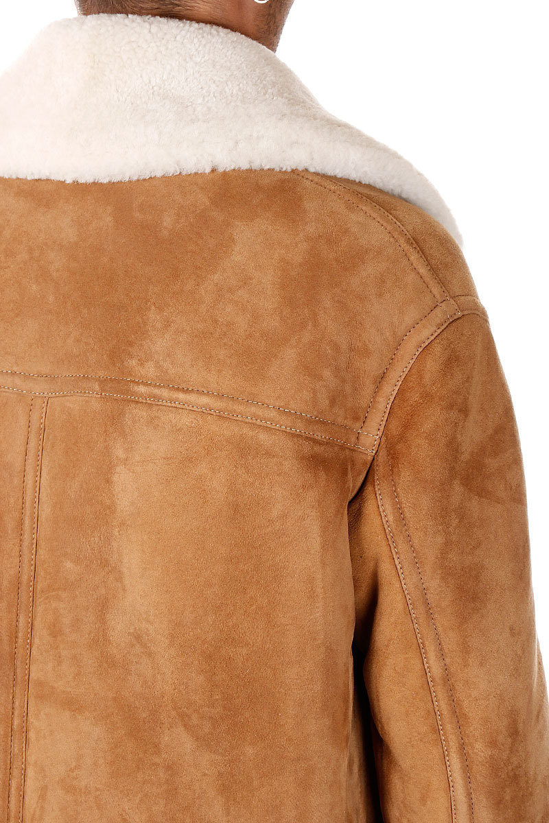 Dsquared2 Giacca in Shearling uomo - Glamood Outlet 8783f0d87687