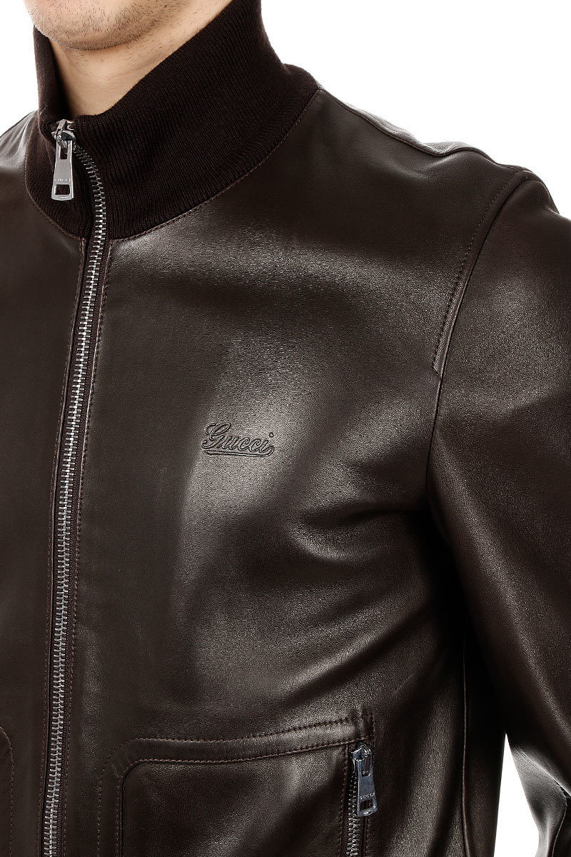 check out 37233 c8e16 Giubbotto Bomber in Pelle