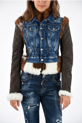 official photos 193b9 d7191 Outlet Parka e Montgomery Dsquared2 donna Blu - Glamood Outlet