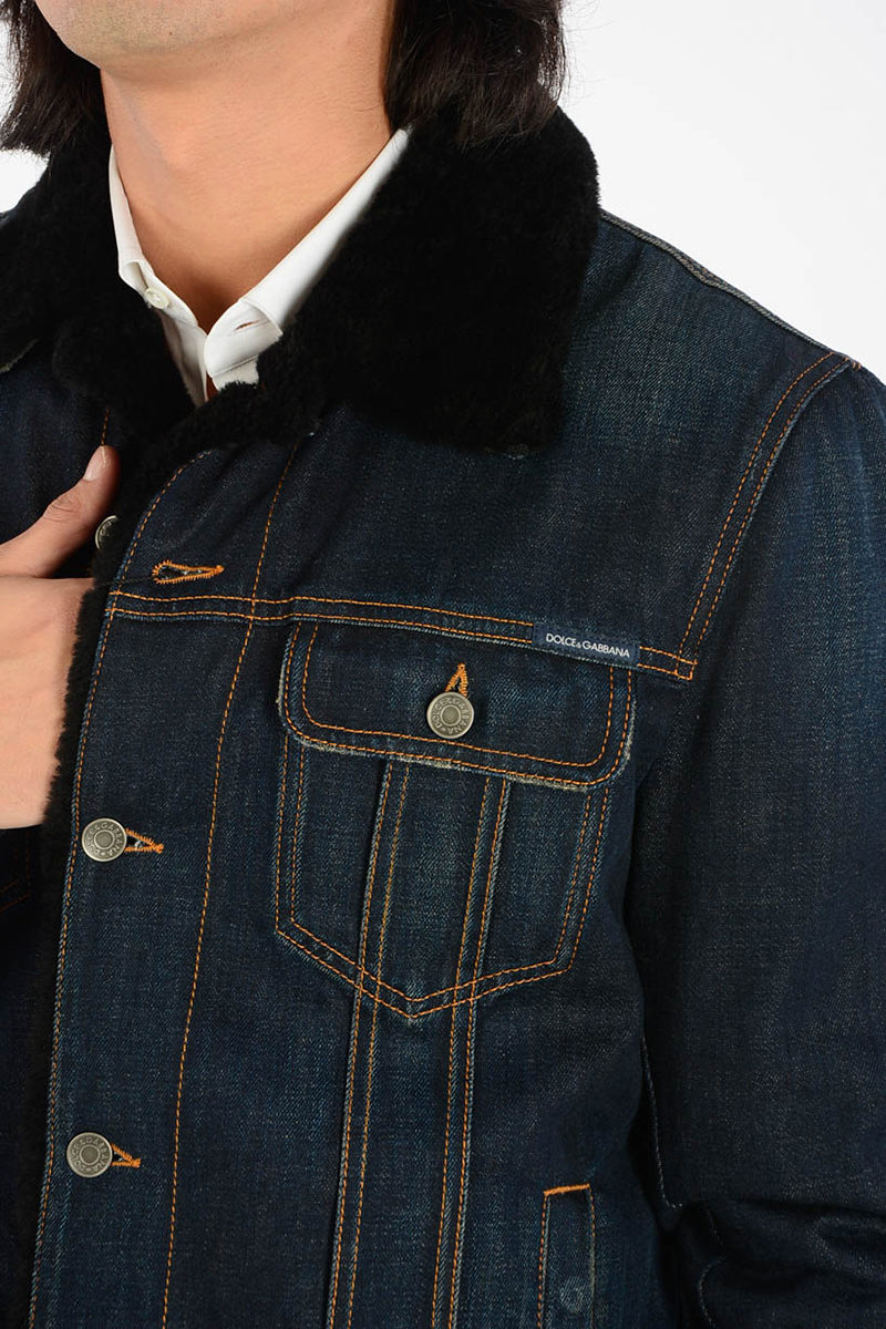new product 461df 4785c Giubbotto in Jeans
