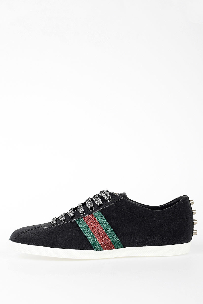 dc13a7f4ab9 Gucci Glitter Sneakers men - Glamood Outlet
