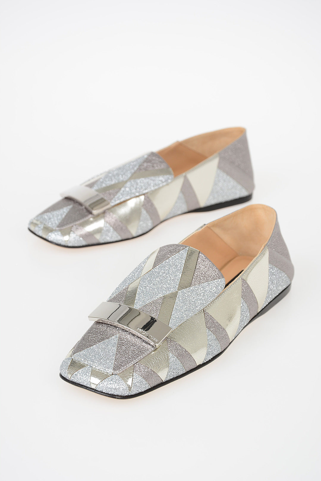 248c350a6 Sergio Rossi Glittered Loafers women - Glamood Outlet