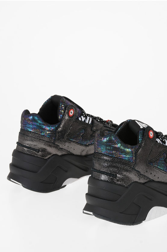 Glittered P1THON Sneakers