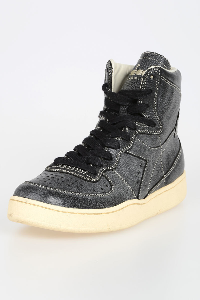 factory price ce17e fced7 HERITAGE Sneakers MI BASKET POWER in Pelle