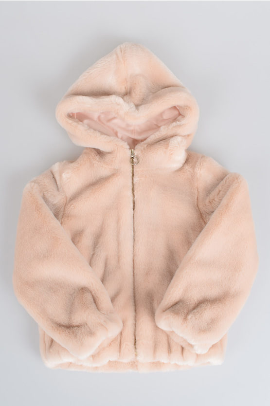 Hooded Faux Fur