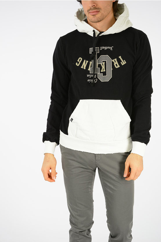 Hooded Printed Sweatshirt