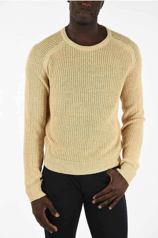 ID Linen and Cotton Knitted Sweaters