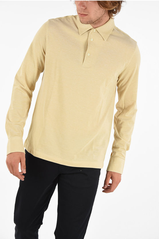 ID Long Sleeve IDENTITY Polo