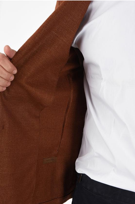 ID Silk and Virgin Wool Single Breasted IDENTITY Blazer