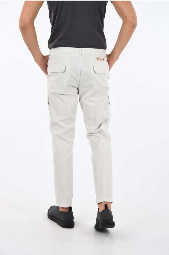 ID Stretchy Cotton Cargo Pants