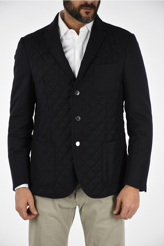 ID Virgin Wool and Cashmere Coat