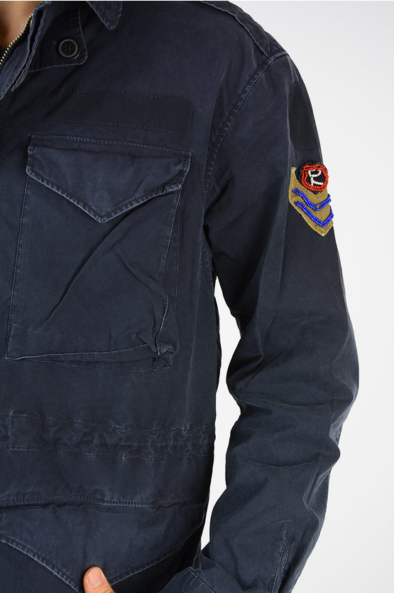 Jacket with Patch