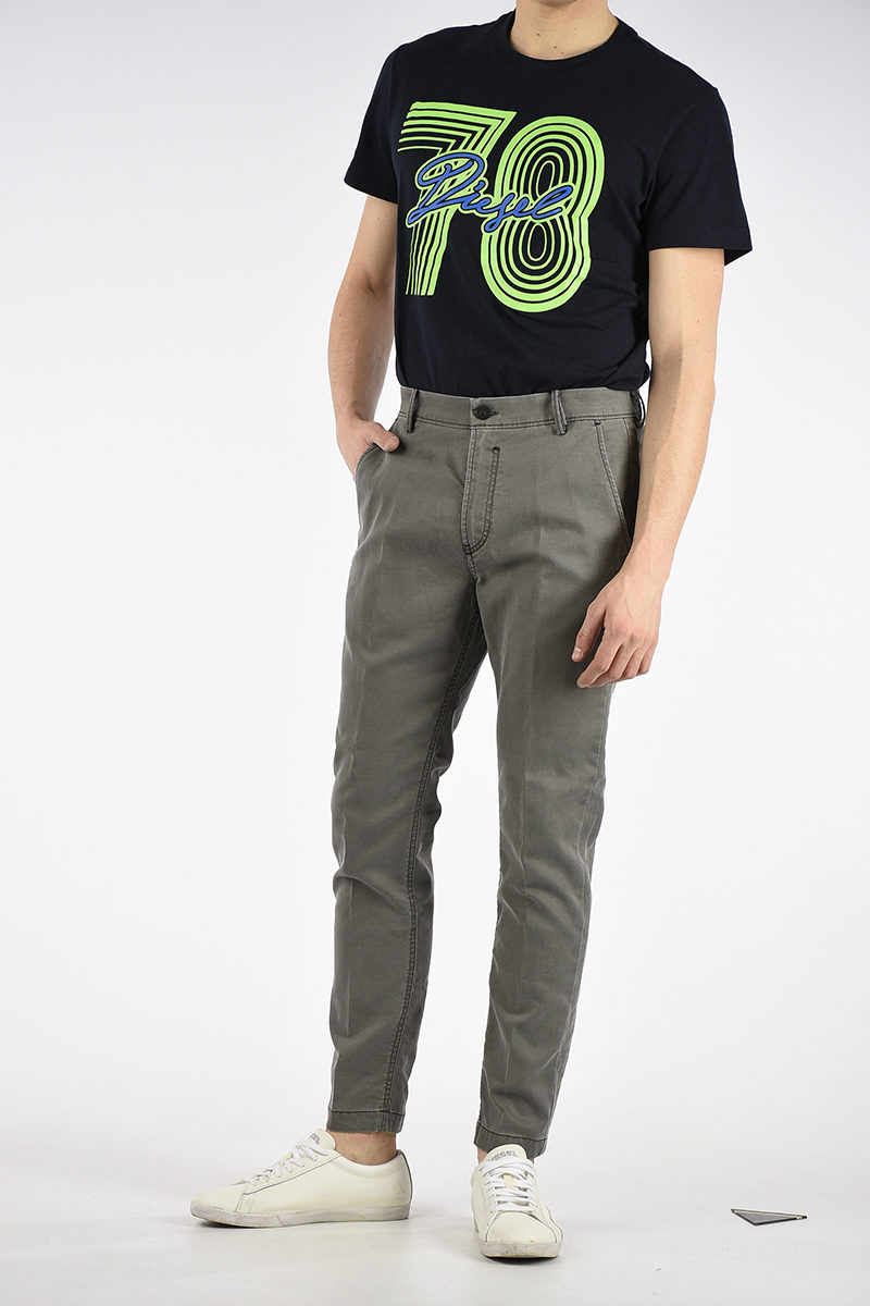 c674e023 Diesel Jeans SLIM-CHINO-M-NE Sweat pants men - Glamood Outlet