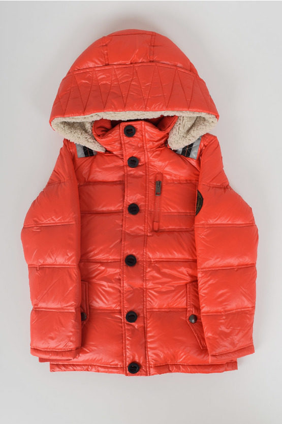 JUEDI Down Jacket with Patch