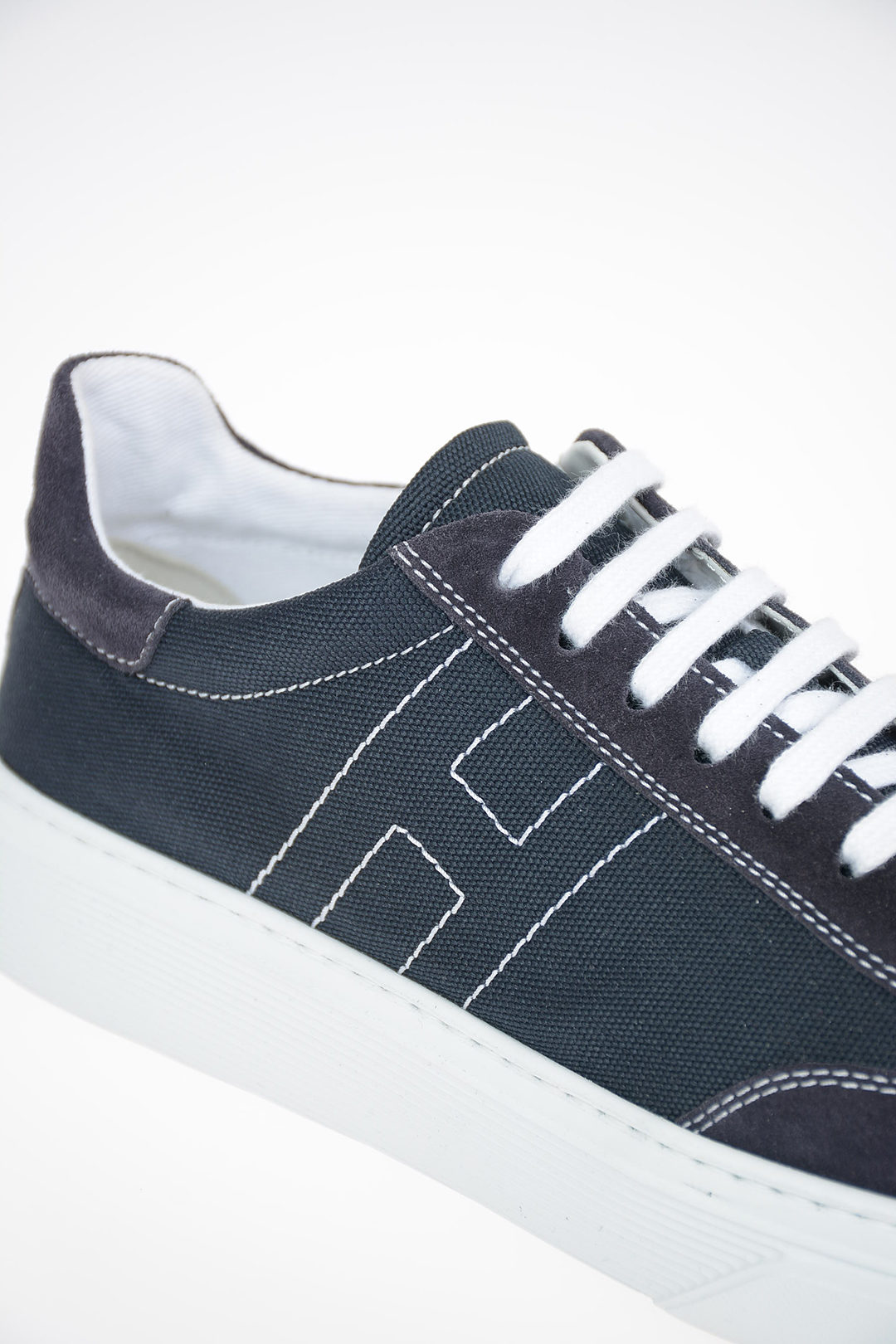 JUNIOR Denim R365 Sneakers With Suede Details