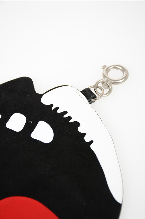 Key Ring with Leather Pendant