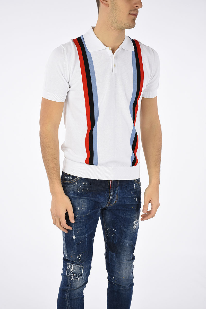 3a205d31 Dsquared2 Knitted Polo men - Glamood Outlet