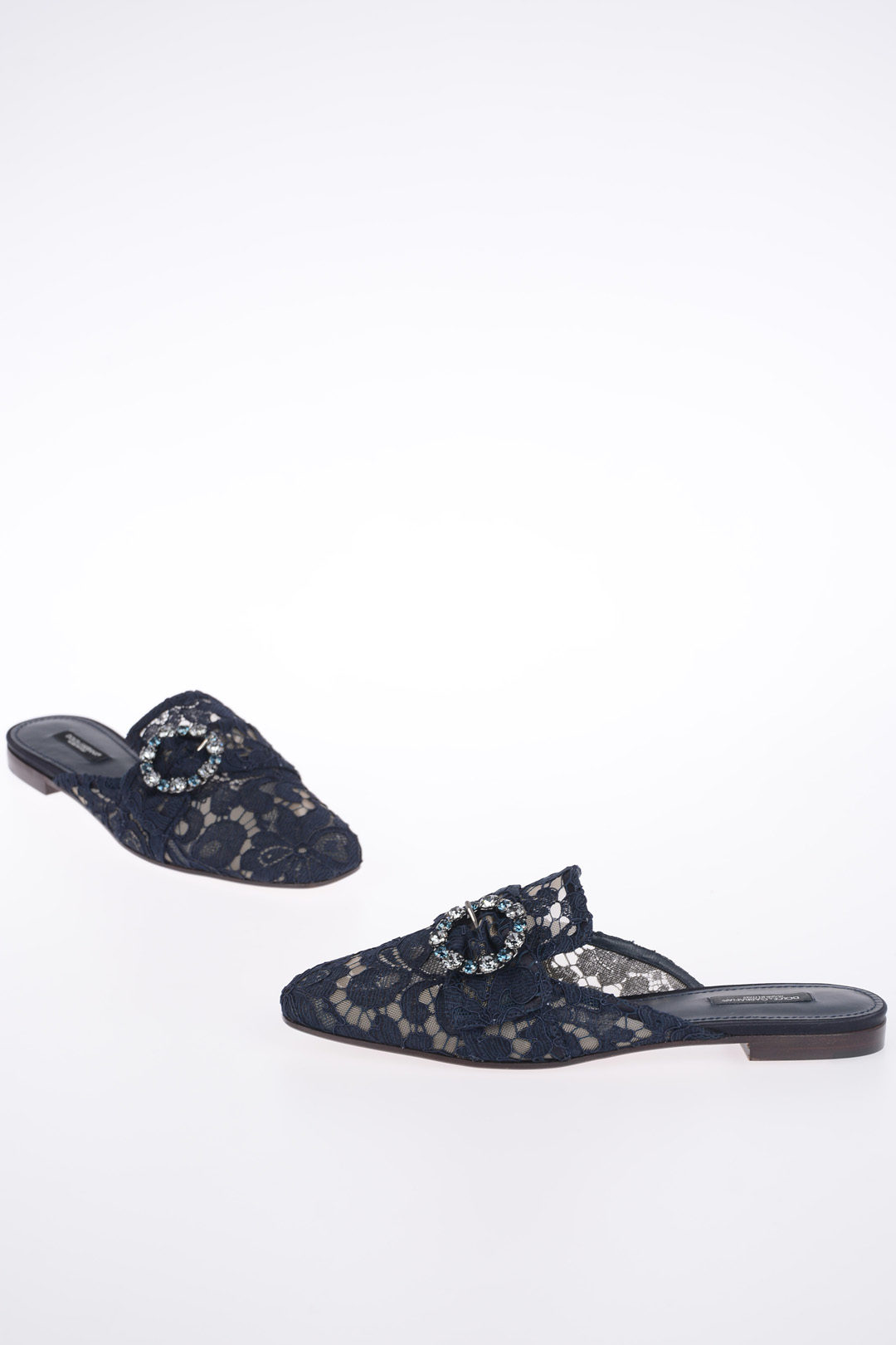 a07446c354670 Dolce & Gabbana Lace JACKIE Slippers women - Glamood Outlet