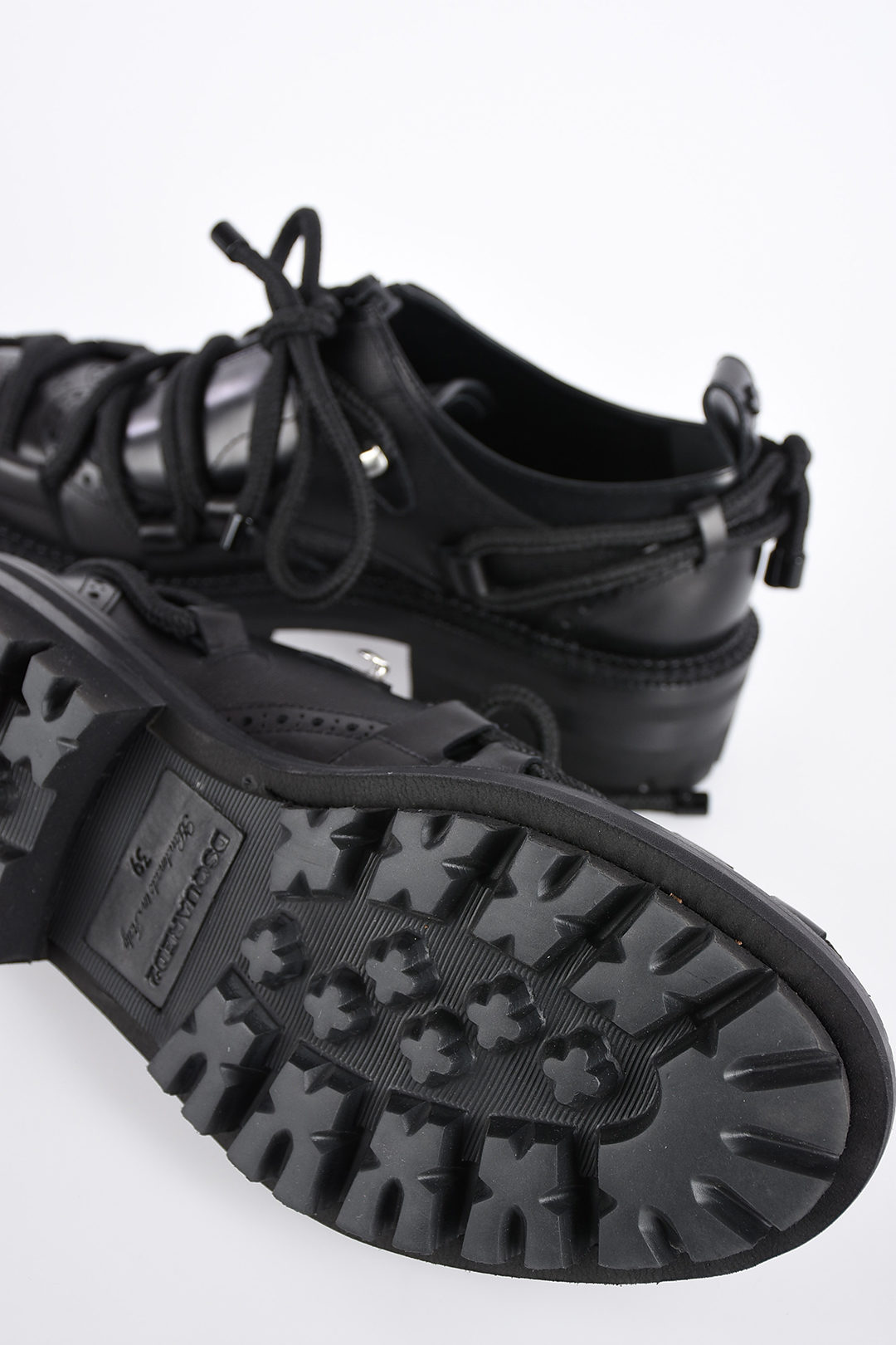 Dsquared2 Lace Up BUNGY JUMP Leather