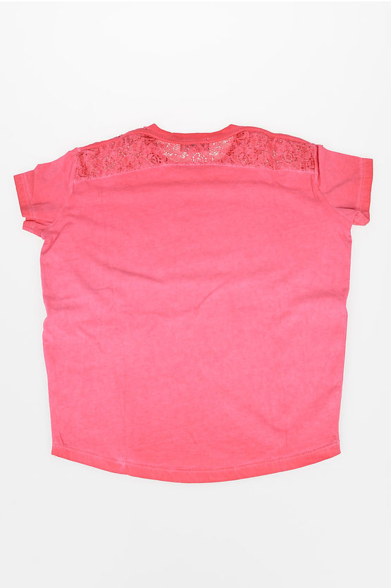 Laced Printed T-shirt