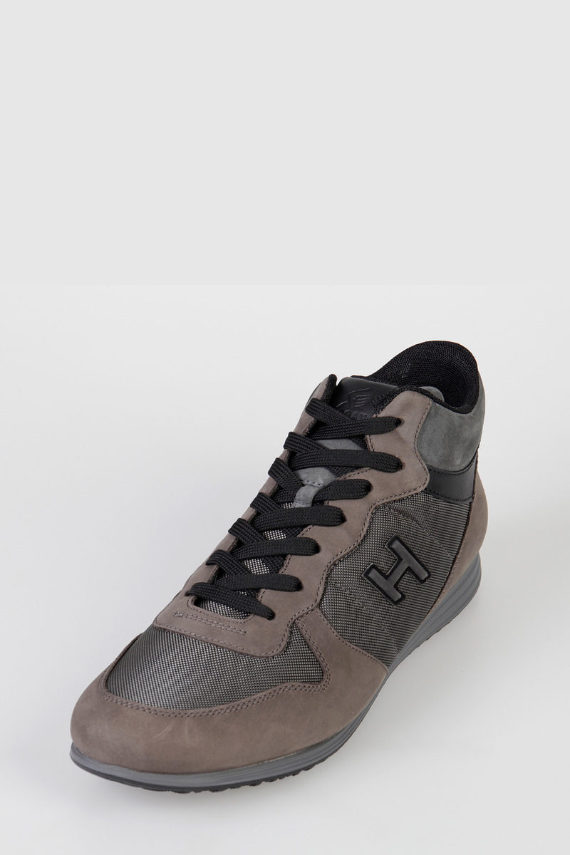 Leather & Fabric OLYMPIA X MID CUT Sneakers