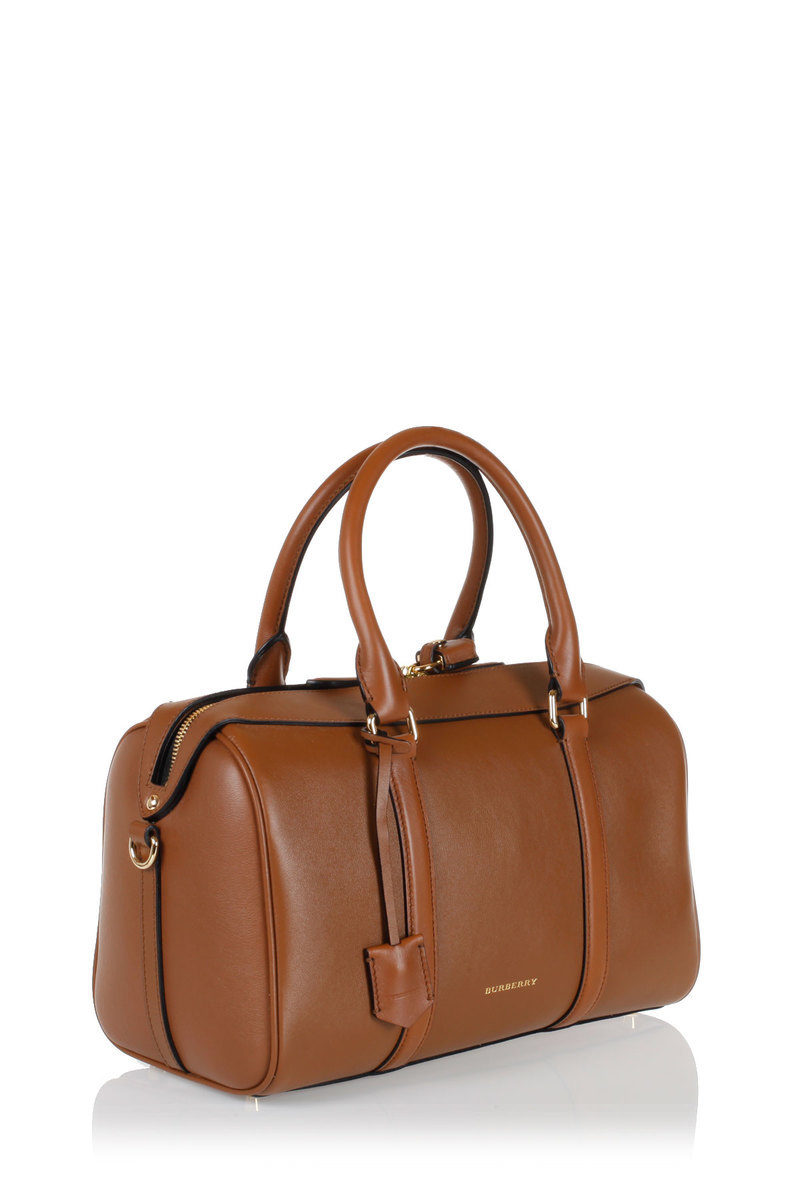 Burberry Leather ALCHESTER Bowling Bag women - Glamood Outlet b66cb2cac75e2