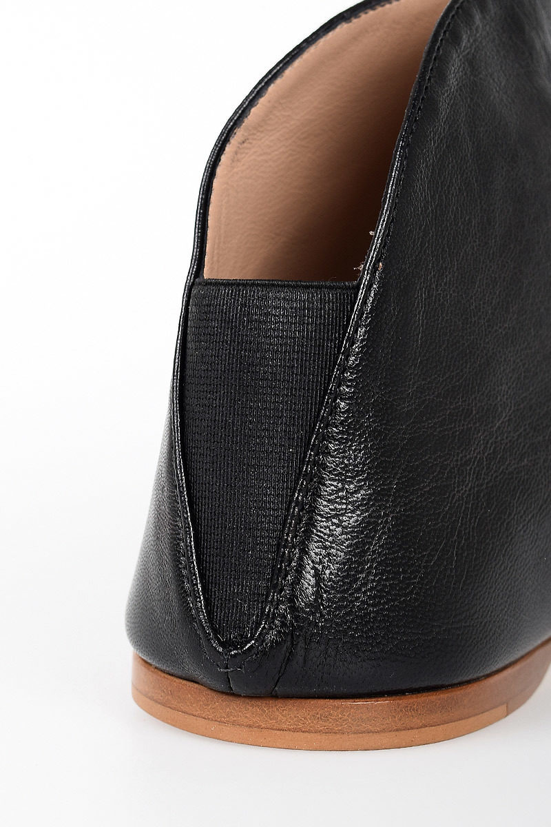 Acne Studios Leather Ame Flat Ankle Boots Women Glamood Outlet