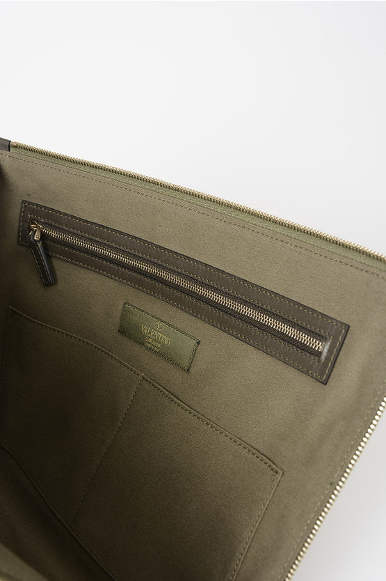 Leather and Canvas PANTHER Pouch