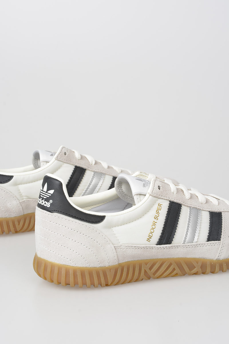 1491f971216 Adidas Leather and Fabric INDOOR SUPER Sneakers herren - Glamood Outlet