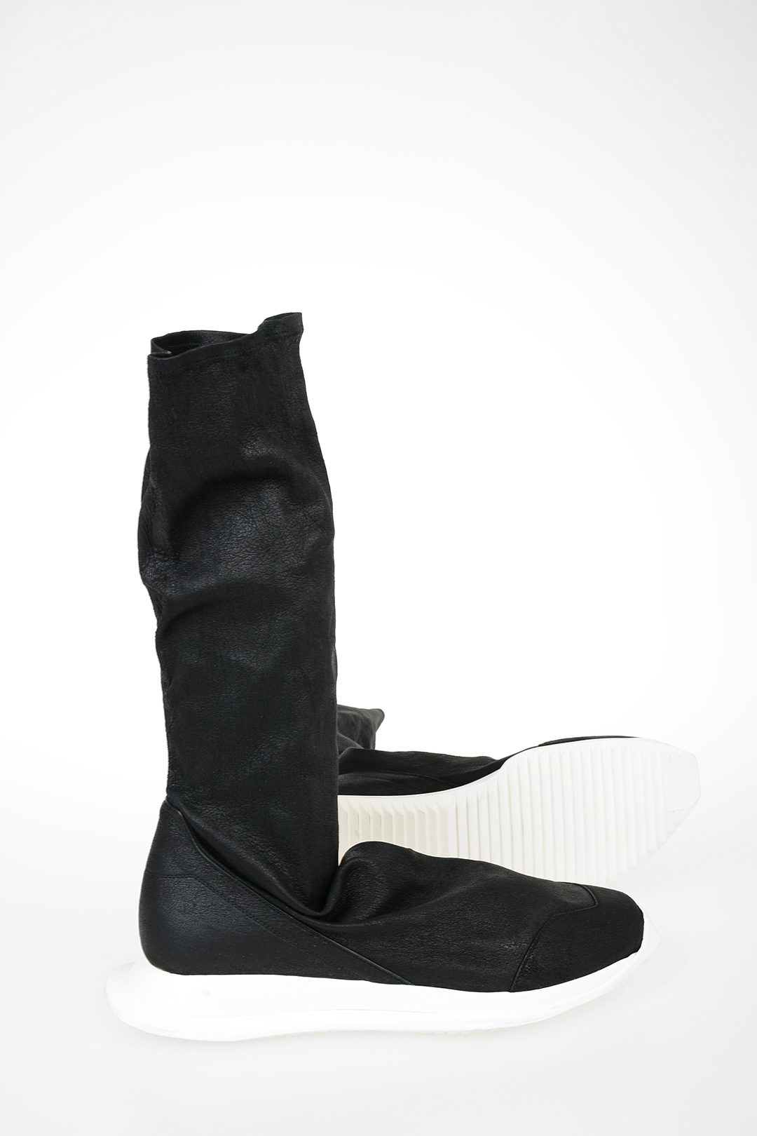 Rick Owens Leather and Fabric OBLIQUE