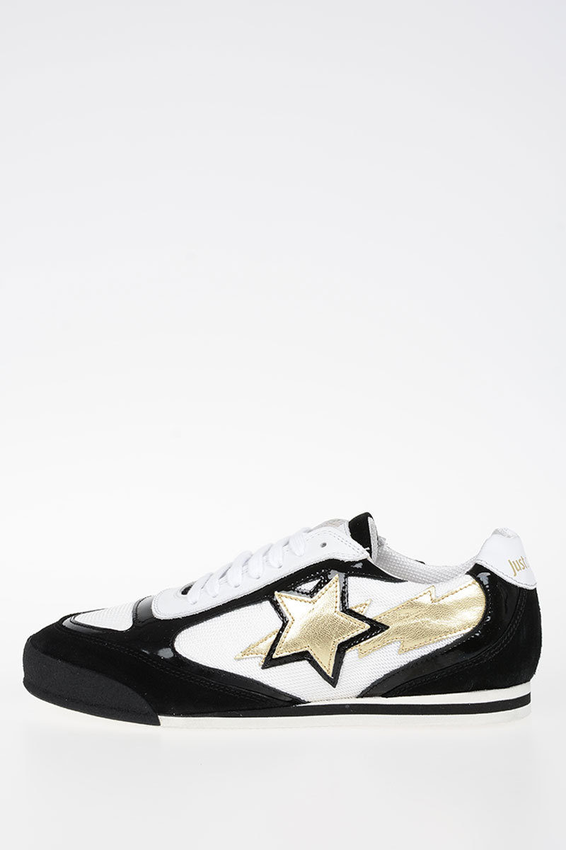 FIRE Leather Sneakers Reptile Print Spring/summer Just Cavalli S90nQBE9