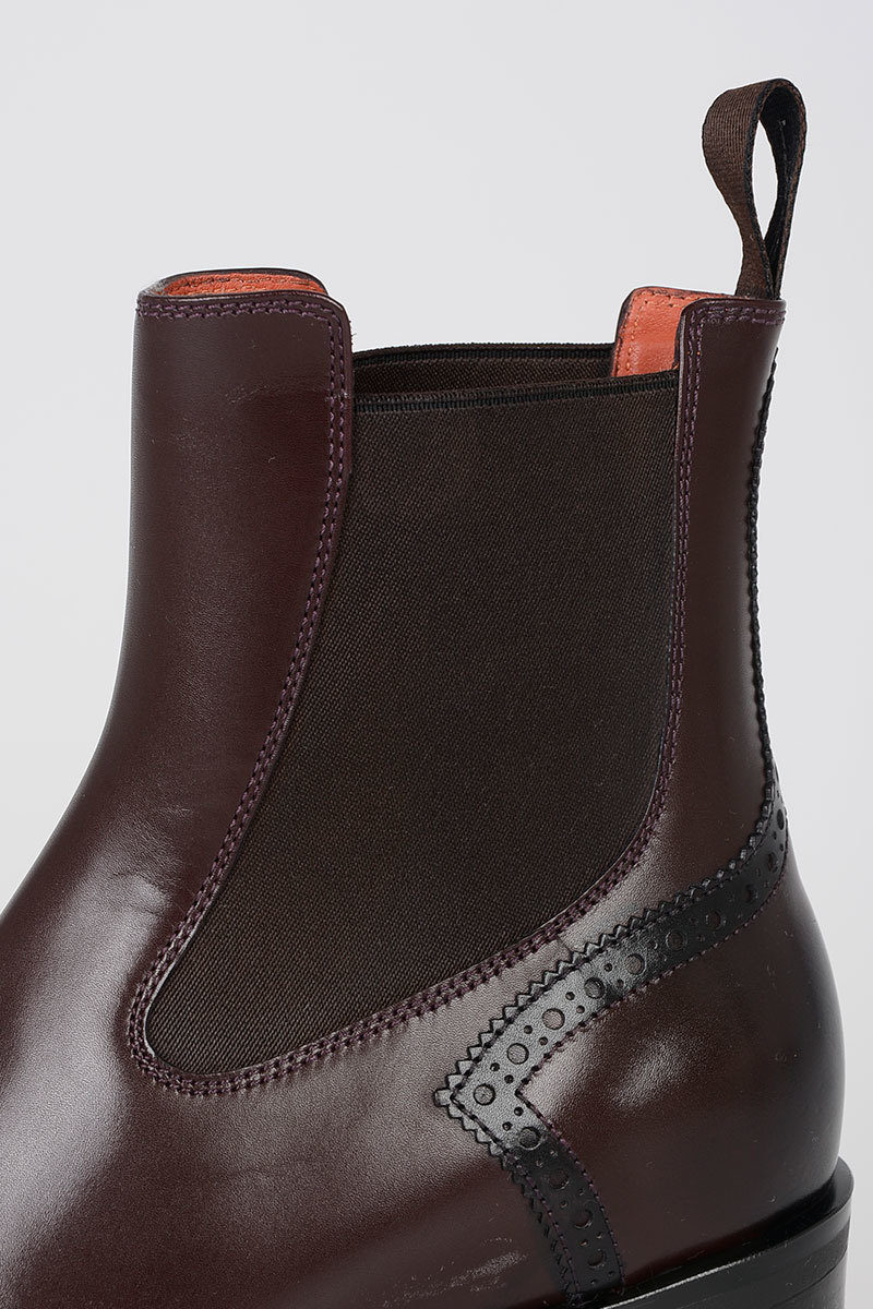 b76c271d4f56 Santoni Leather ankle Boots women - Glamood Outlet