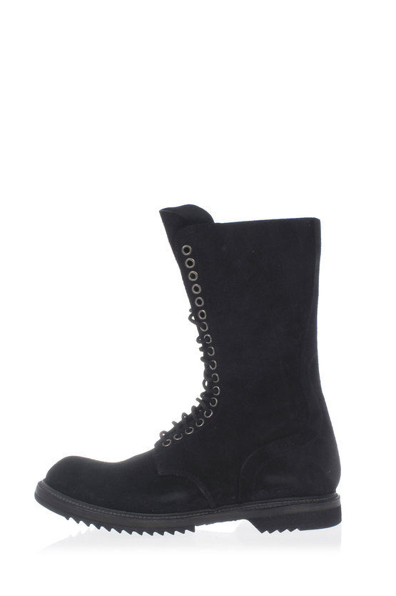 Leather ARMY SOLE boots