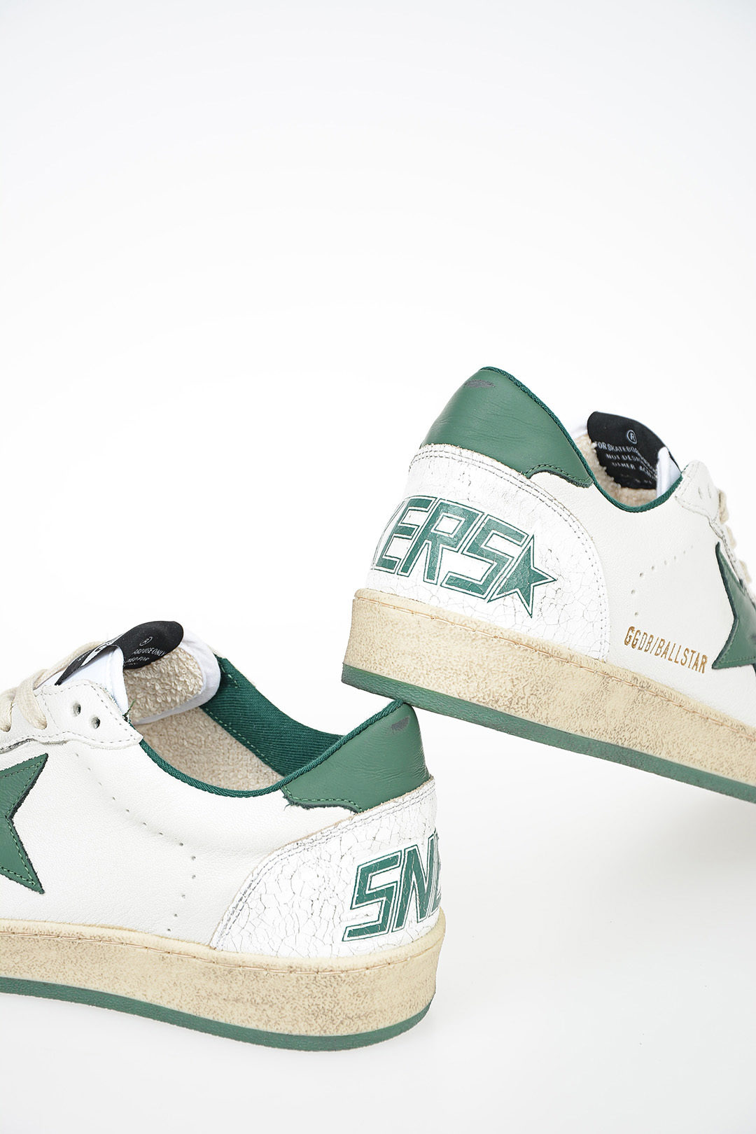 Golden Goose Leather BALL STAR Sneakers
