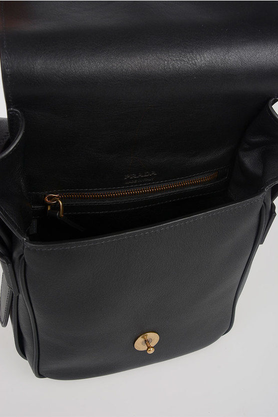 Leather BANDOLIERA Crossbody Bag