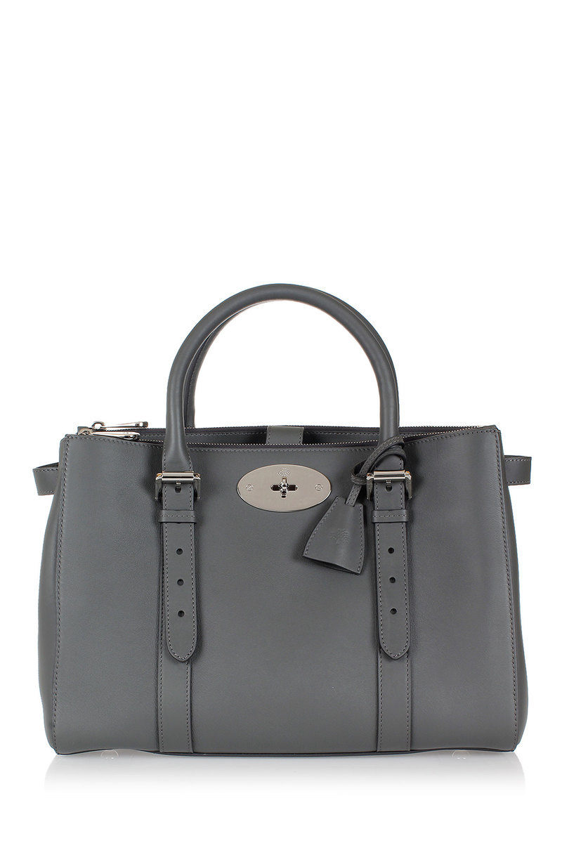 75b86631e60 Mulberry Leather BAYSWATER D ZIP TOTE Bag women - Glamood Outlet