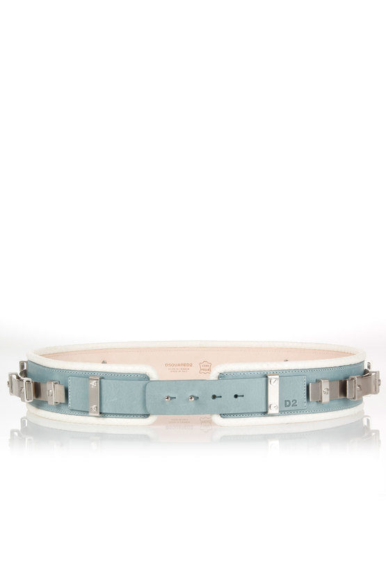 Leather Belt with Applications