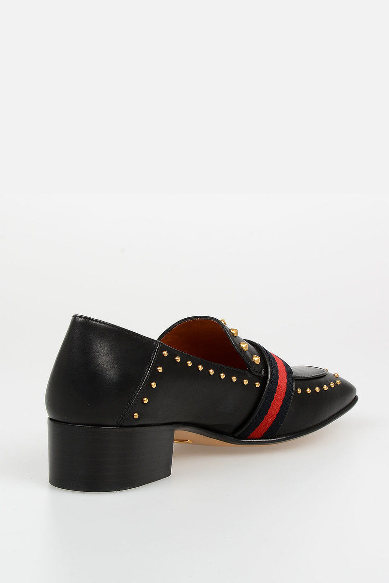 e299b0ebe8b1e4 Gucci Leather BETIS GLAMOUR Loafer women - Glamood Outlet