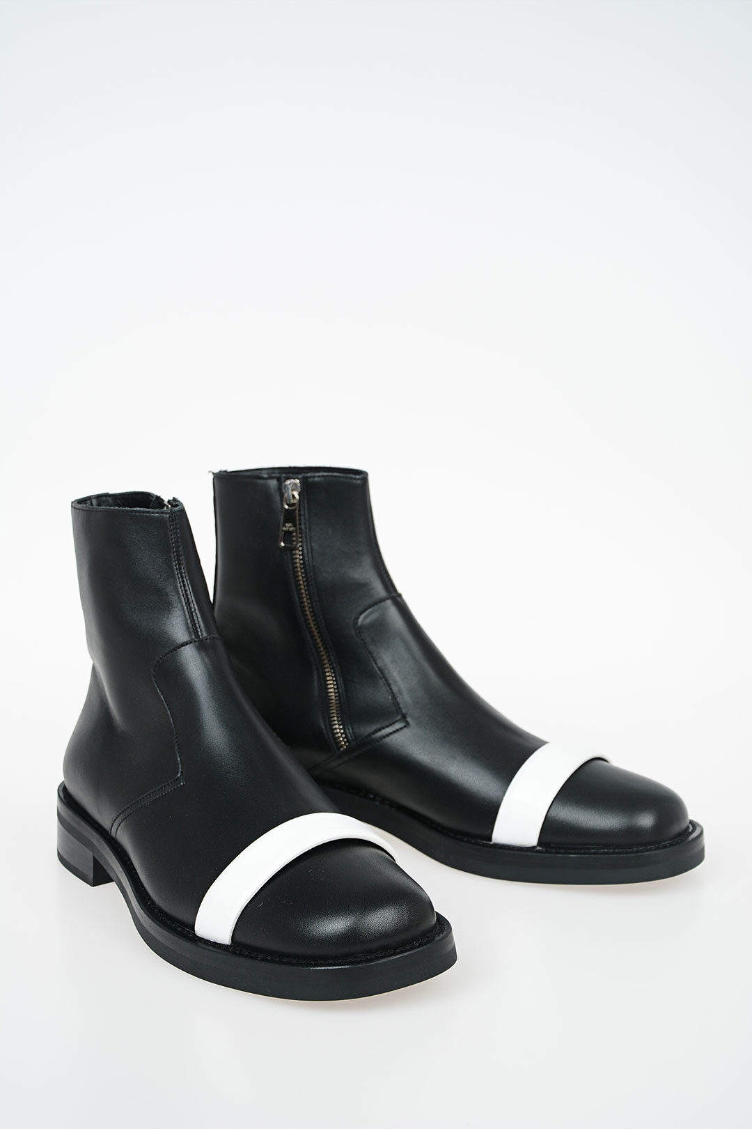 shop for pretty cool super popular Leather BIKER Ankle Boots
