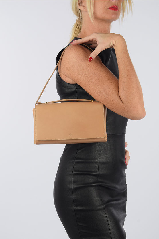 Leather BOOK Shoulder Bag