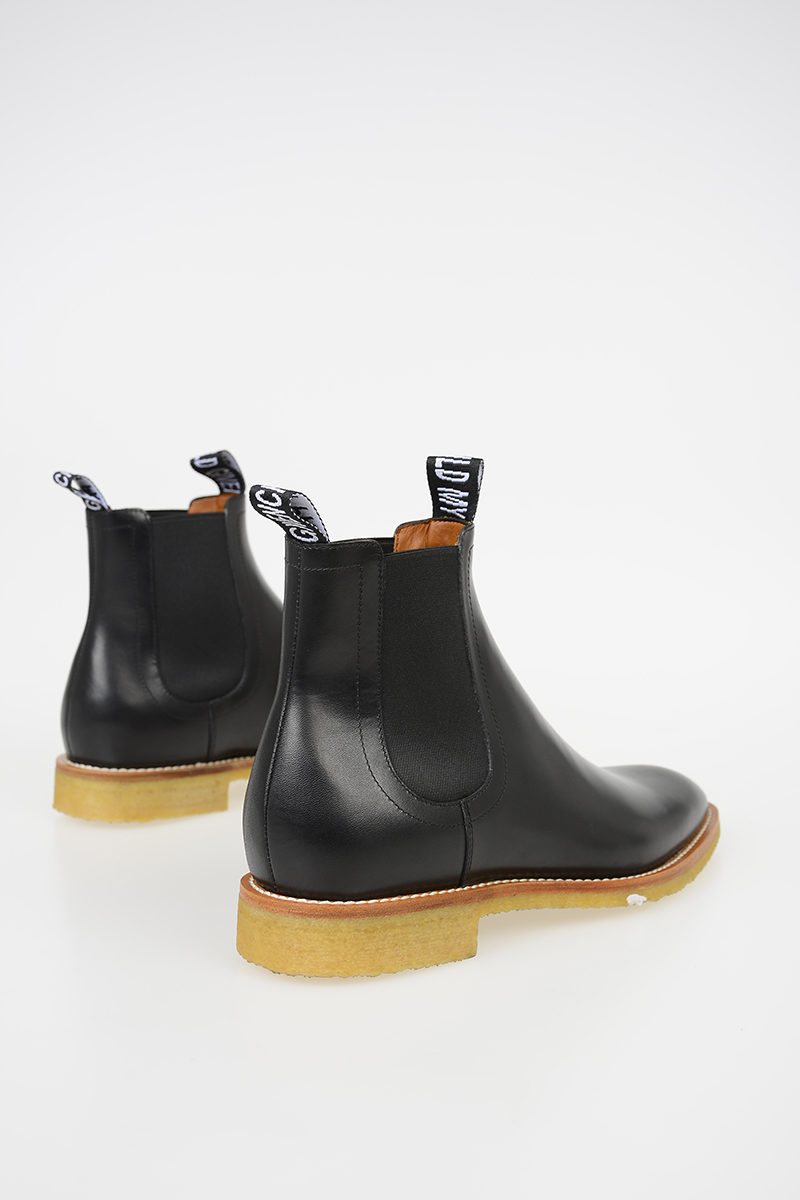 Givenchy Leather Boots CHELSEA men - Glamood Outlet e878ffaa3a84