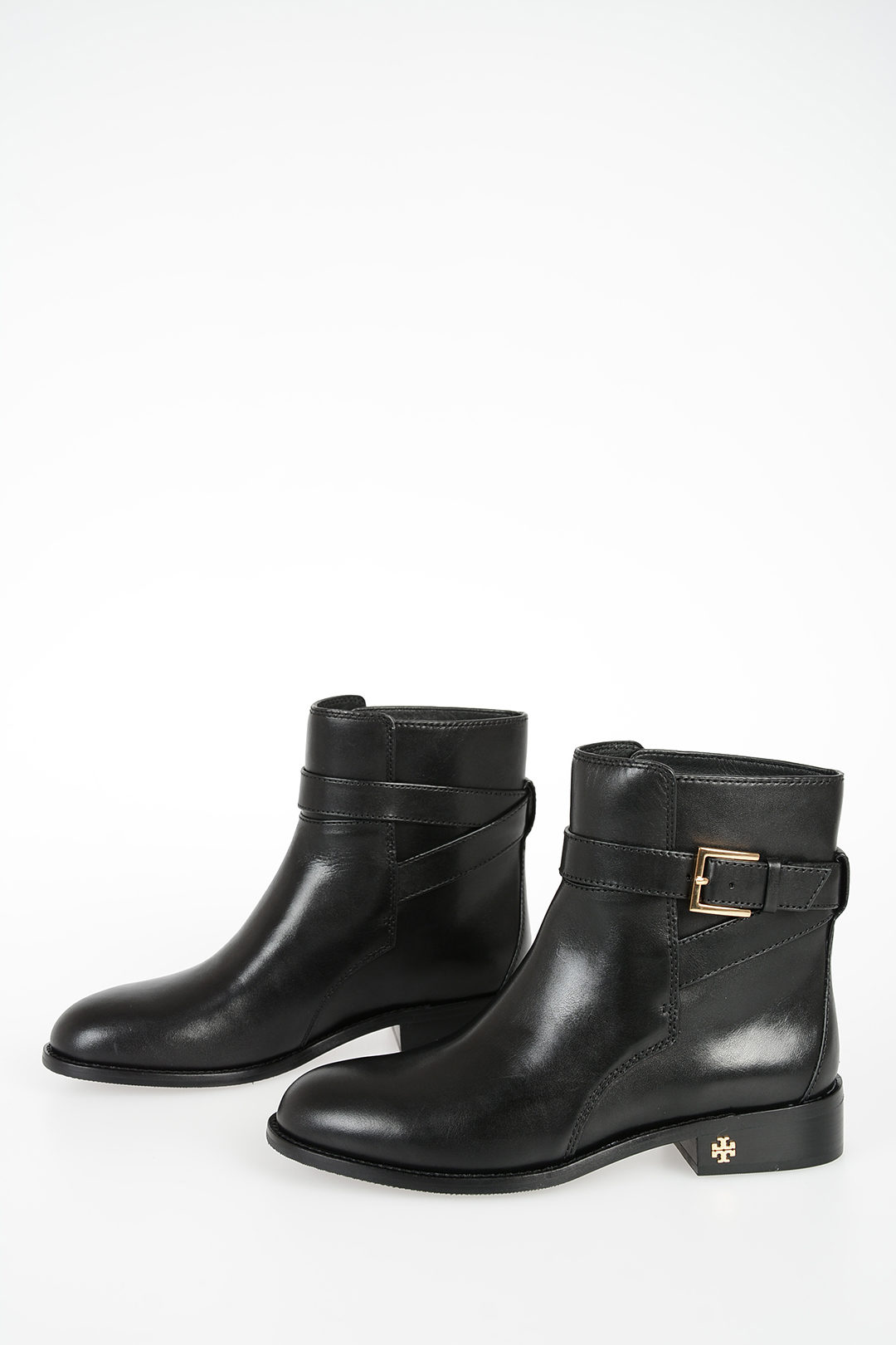 Tory Burch Leather BROOKE Ankle Boots