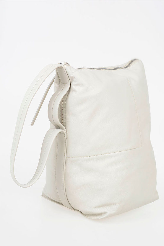 Leather Bucket Bag DINGE