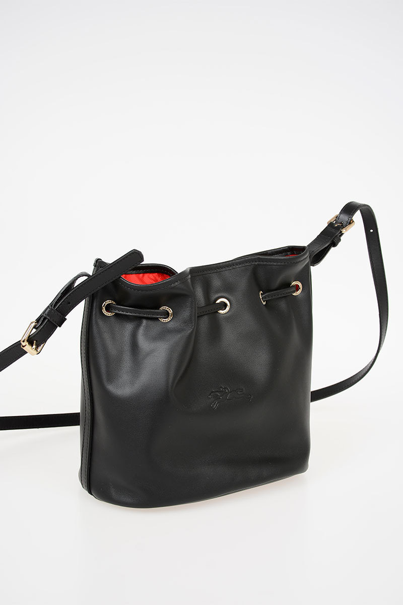 ed960bd1504c Longchamp Leather Bucket Bag women - Glamood Outlet