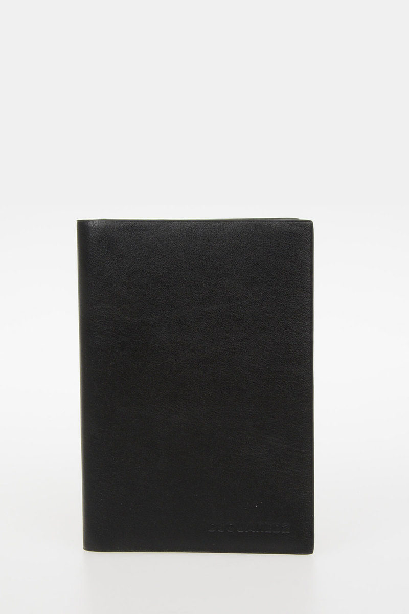 Dsquared2 leather business card and passport holder men glamood outlet leather business card and passport holder colourmoves