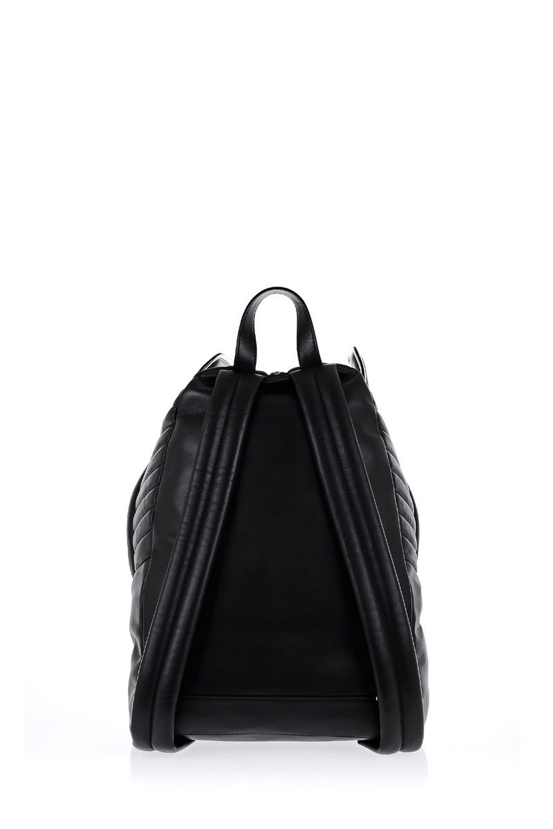 e17879425b90 Moschino Leather CADILLAC Backpack women - Glamood Outlet