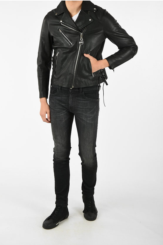 Leather CL-L-GOLY Jacket