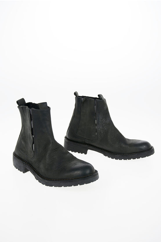 Leather DOPPER D-PITT CHELSEA Ankle Boots