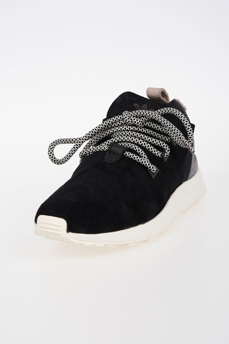 quality design ace37 92d50 Leather Fabric ZX FLUX ADV Sneakers