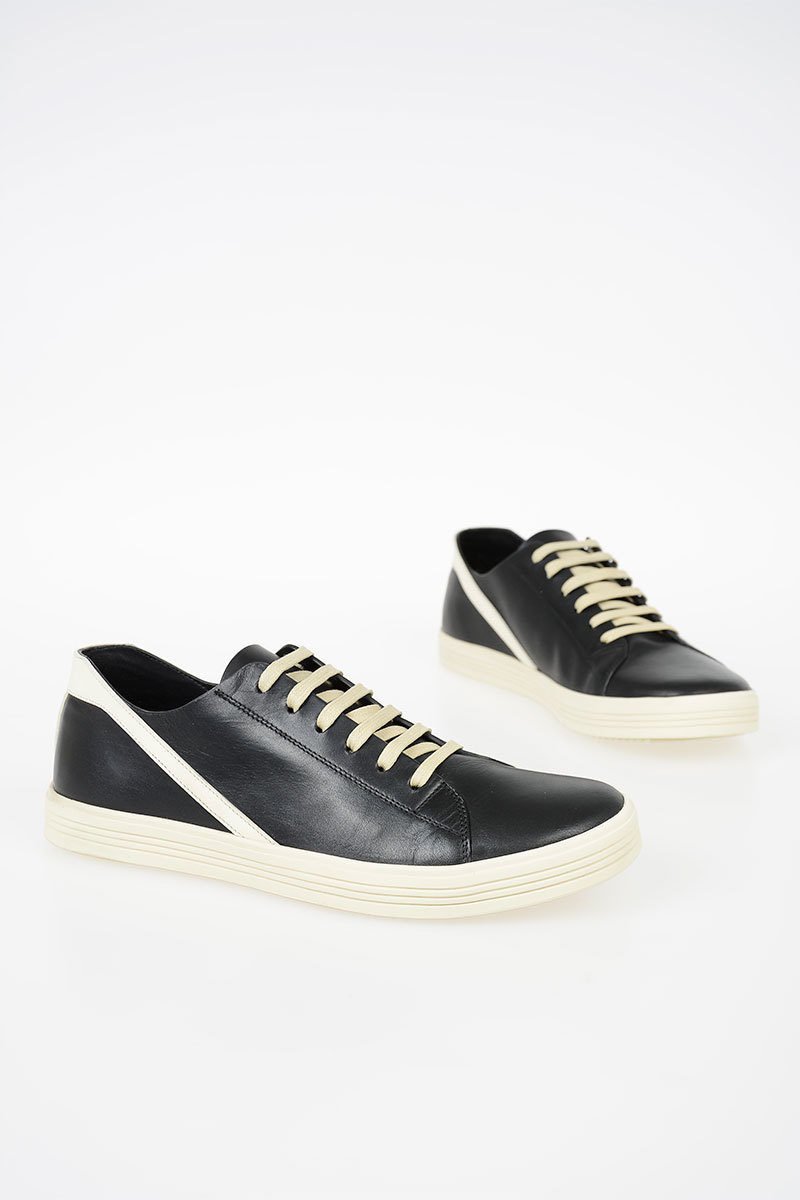 Rick Owens Leather GEOTHRASHER Sneakers
